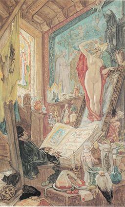 Félicien Rops - L'Incantation