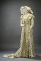 Förmiddagsklänning, drottning Victoria - Livrustkammaren - 15799.tif
