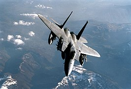 Een F-15C van de US Air Force