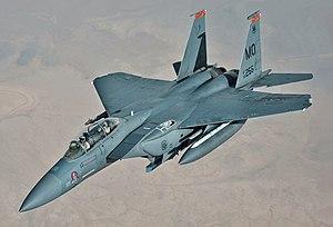 Mcdonnell Douglas F 15e Strike Eagle Wikipedia