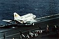 F-4J Phantom II of VF-103 is launched from USS Saratoga (CV-60) in 1976.jpg