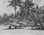 F4U of VMF-214 at Turtle Bay Airfield, Espiritu Santo.jpg
