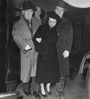 Judith Coplon - FBI arrests Judith Coplon on 4 March 1949