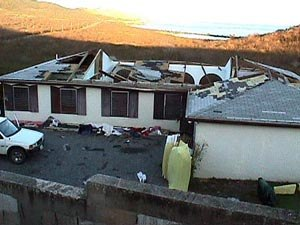 Hurricane Lenny - Property damage on the island of Saint Croix