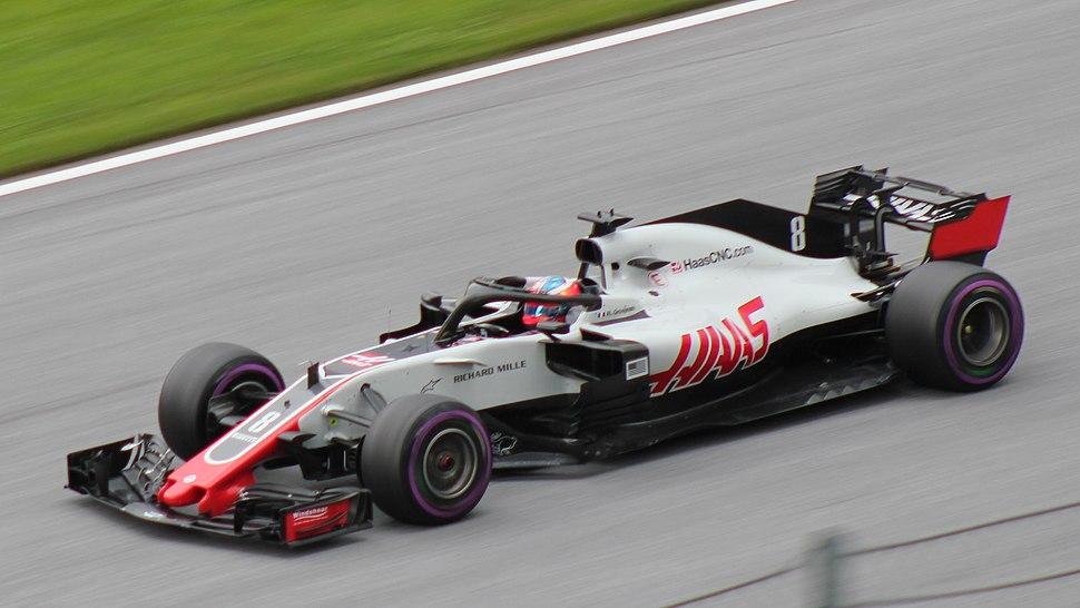FIA F1 Austria 2018 Nr. 8 Grosjean