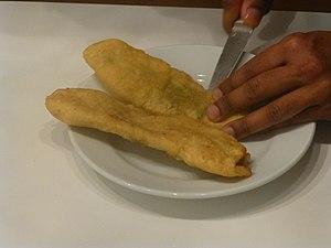 Aloo pie - Image: FOOD Aloo Pie 4