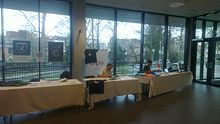 Qt booth at FOSDEM