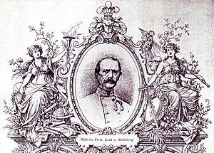 Wilhelm Lenk von Wolfsberg - Feldzeugmeister Wilhelm Freiherr Lenk von Wolfsberg 1877