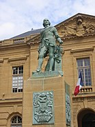Fabert, statue de Metz