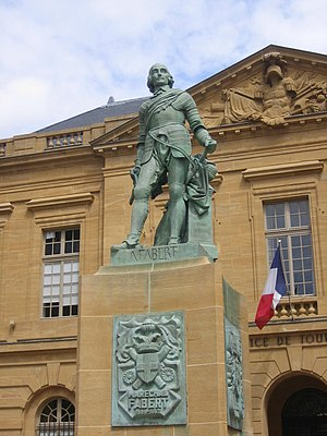 Abraham de Fabert - Statue of Abraham de Fabert in Metz, France