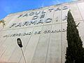 Facultad de Farmacia Universidad de Granada.JPG