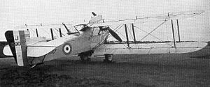 Fairey Fawn - First prototype Fawn with short fuselage and single tank