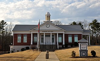 Fairview, Tennessee - Fairview City Hall, February 2014.