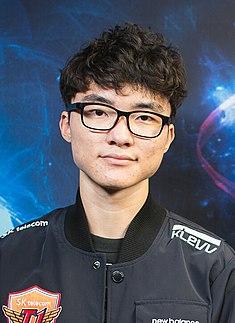 Faker (gamer) South Korean professional League of Legends player