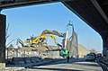 Fall River- Demolition of existing Routes 79 and 138 south of Davol Street u-turn (13227659463).jpg