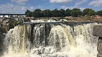 Sioux Falls, South Dakota - Falls Park on the Big Sioux River
