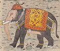 Faraḥ nāmah elephant inset.jpg