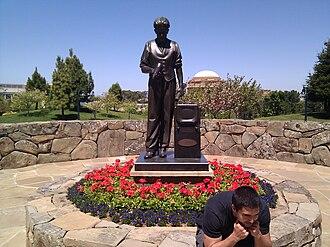 Philo Farnsworth - Statue of Philo T. Farnsworth at the Letterman Digital Arts Center in San Francisco.