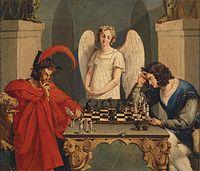 Faust und Mephisto beim Schachspiel 19Jh.jpg