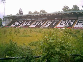 Darlington F.C. - Image: Feethams Football Ground, Darlington geograph.org.uk 76612