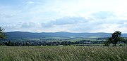 Großer Feldberg vom Usinger Becken (Hintertaunus) betrachtet