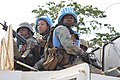 Female combat troops of South African Contingent in MONUSCO on robust foot and moblile patrols 35.jpg