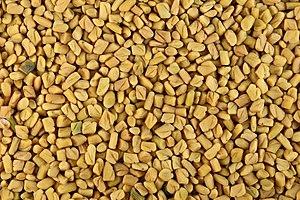 Fenugreek seeds.