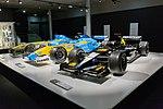 Fernando Alonso 2001-2004 cars 2017 Museo Fernando Alonso.jpg