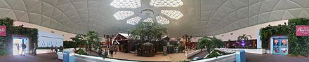The Wonders of Life Pavilion being used as the Festival Center during the 2014 Epcot International Food & Wine Festival