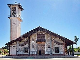 Martin Schmid - Kirche von San Ignacio de Velasco, Bolivia