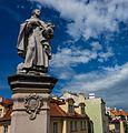 FilePraha, Karlův most, socha sv. Filipa Benicia.jpg