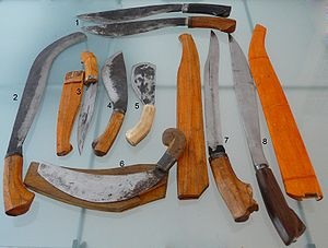 Arnis - Various Filipino knives.