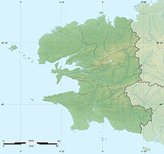 Île Vierge is located in Finistère