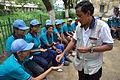 Fire-making - Survival Programme - Summer Camp - Nisana Foundation - Sibpur BE College Model High School - Howrah 2013-06-09 9679.JPG