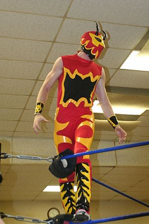 The Colony (professional wrestling) - Fire Ant in 2008