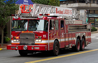 Boston Fire Department - Ladder Company 15, quartered in the Back Bay