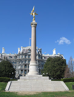First Division Monument artwork by Daniel Chester French