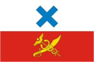Irbit - Image: Flag of Irbit (Sverdlovsk oblast)