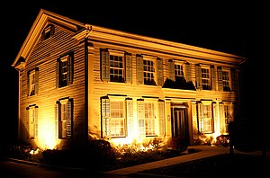 Plainfield, Illinois - The Flanders House in Plainfield, Illinois.