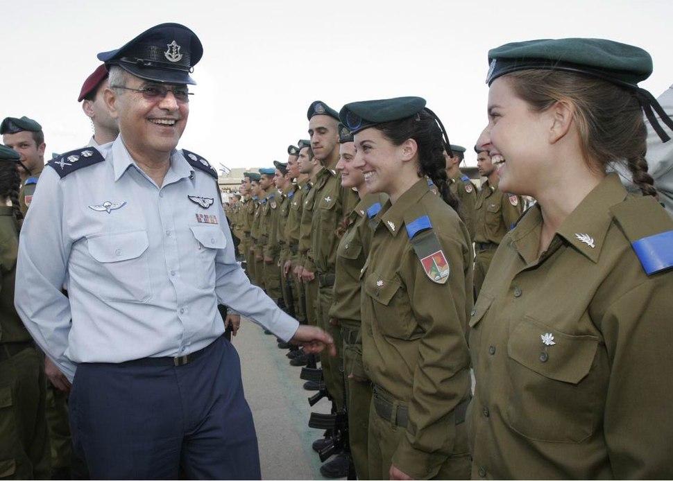 Flickr - Israel Defense Forces - Lt. Gen. Dan Halutz Congratulates Graduating Officers