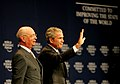 Flickr - World Economic Forum - Klaus Schwab, George Bush - World Economic Forum on the Middle East 2008.jpg