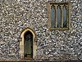 Flintstone Wall of St Swithuns - geograph.org.uk - 62304.jpg