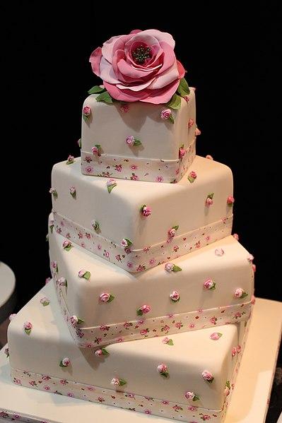 Wedding Cake Monte A L Envers