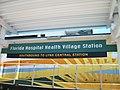 Florida Health SunRail Station platform sign.JPG