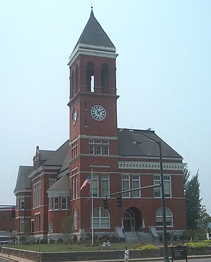 Floyd County Courthouse in Rome, gelistet im NRHP Nr. 80001067[1]