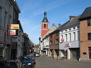 Fontaine-lÉvêque Municipality in French Community, Belgium