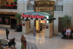 Foot Locker - Foot Locker store, Tower City Center, Cleveland, Ohio