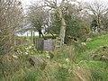 Footbridge and kissing gate on the quarrymen's path - geograph.org.uk - 740345.jpg