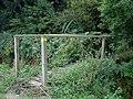 Footbridge into Aldercar Wood - geograph.org.uk - 544434.jpg