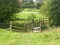 Footbridge on the Wolds Way, Nunburnholme - geograph.org.uk - 120110.jpg
